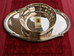French Silver Salver