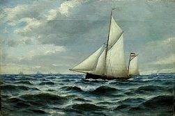Image of Yachting Painting