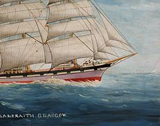 Steamer Ship Portrait