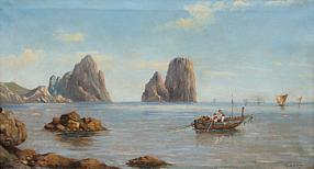 19th Century Coastal View Capri