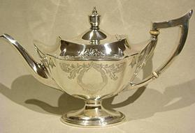 Gorham Sterling Teapot Plymouth