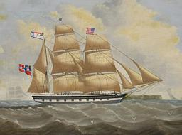 Tindall Ship Portrait