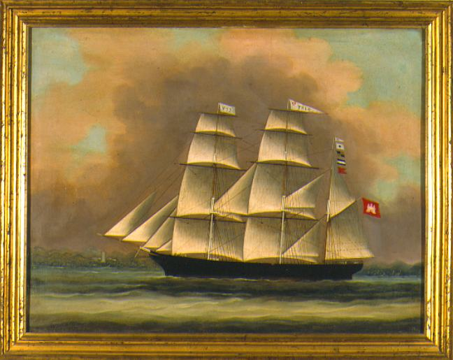 China Trade Ship Portrait