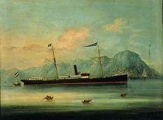 Image of China Trade Ship Portrait