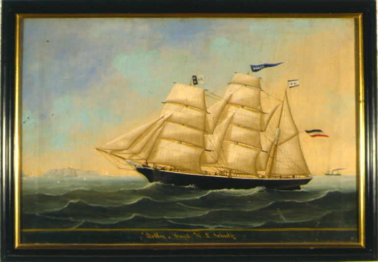 Laschke Ship Portrait