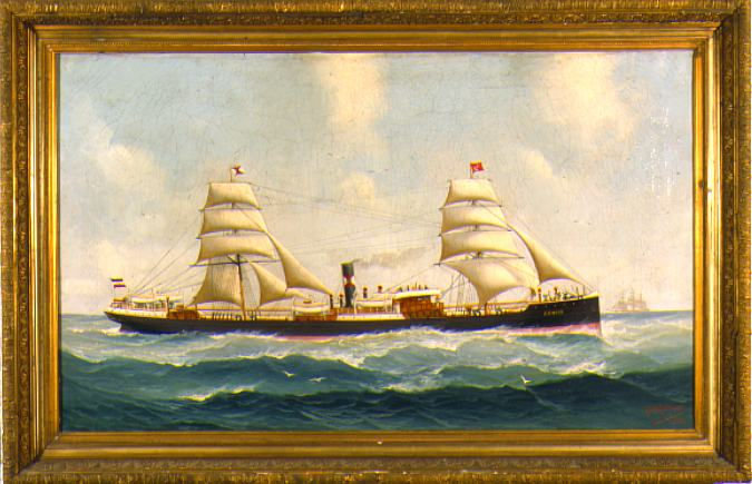 Mohrmann Ship Portrait