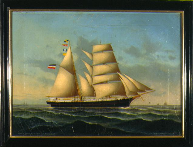 Petersen-Holm Ship Portrait