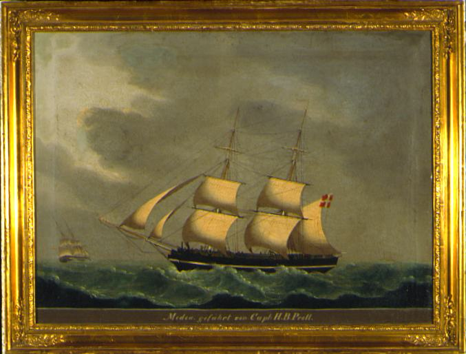 Lorenz Petersen Ship Portrait